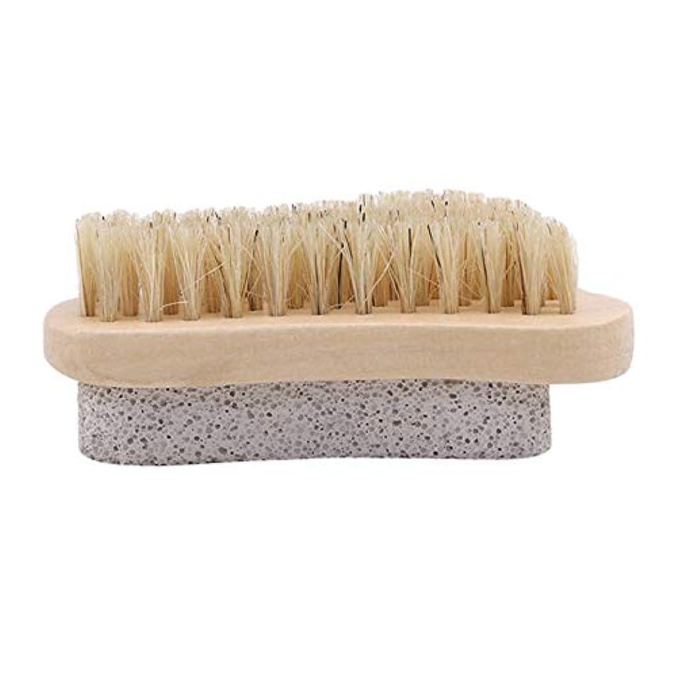 レシピ効能ある有料Bigsweety 足軽石の足爪ブラシ 角質除去 フットブラシ 足を洗うブラシ身体洗いブラシ 足 軽石足爪ブラシライ