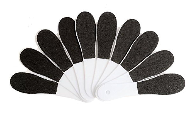 ネット変色するプライム(ADOSSY) プロ仕様 角質除去 フット用品 角質削り 10本 セット かかと 魚の目 ケア 足裏 フットケア 足底 つるつる なめらか すべすべ