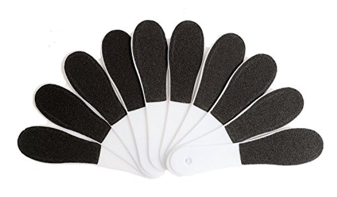 (ADOSSY) プロ仕様 角質除去 フット用品 角質削り 10本 セット かかと 魚の目 ケア 足裏 フットケア 足底 つるつる なめらか すべすべ