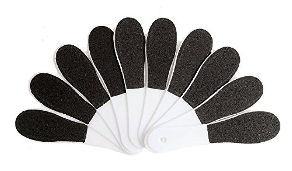 ペフ質素なノベルティ(ADOSSY) プロ仕様 角質除去 フット用品 角質削り 10本 セット かかと 魚の目 ケア 足裏 フットケア 足底 つるつる なめらか すべすべ