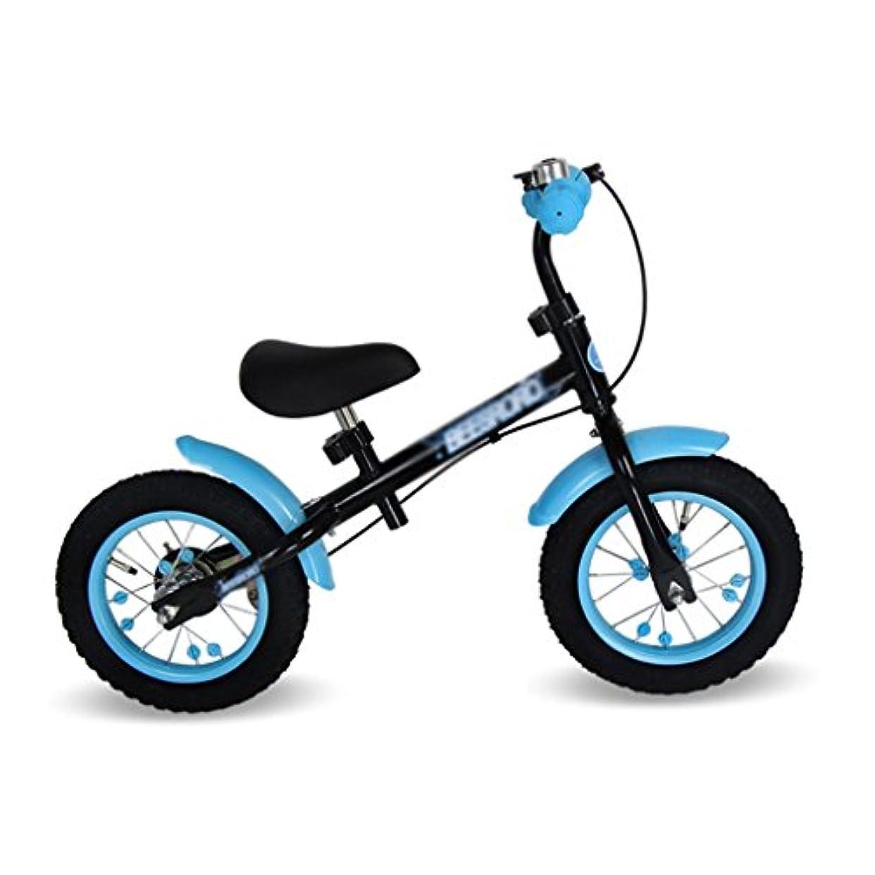 横にほこりっぽいほめるWJ ベビースクーター2つのラウンドは、ペダルなしでインフレする必要がありますベビースクーター子供の車子供ダブルホイール自転車子供のスクーターウォーカー2-6歳