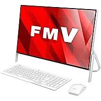 富士通 23.8型 デスクトップパソコンFMV ESPRIMO FH52/B2 スノーホワイト(Office Personal Premium プラス Office 365) FMVF52B2W