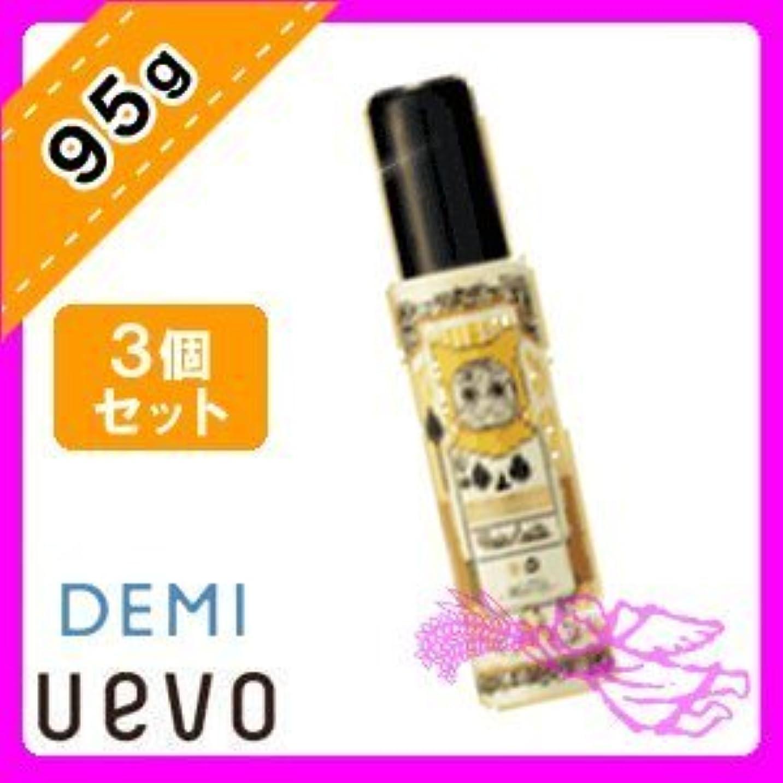 改善する飾り羽クックデミ ウェーボ ジュカーラ ヘアカスタ 10 / 95g × 3個 セット Demi Uevo Jouecara