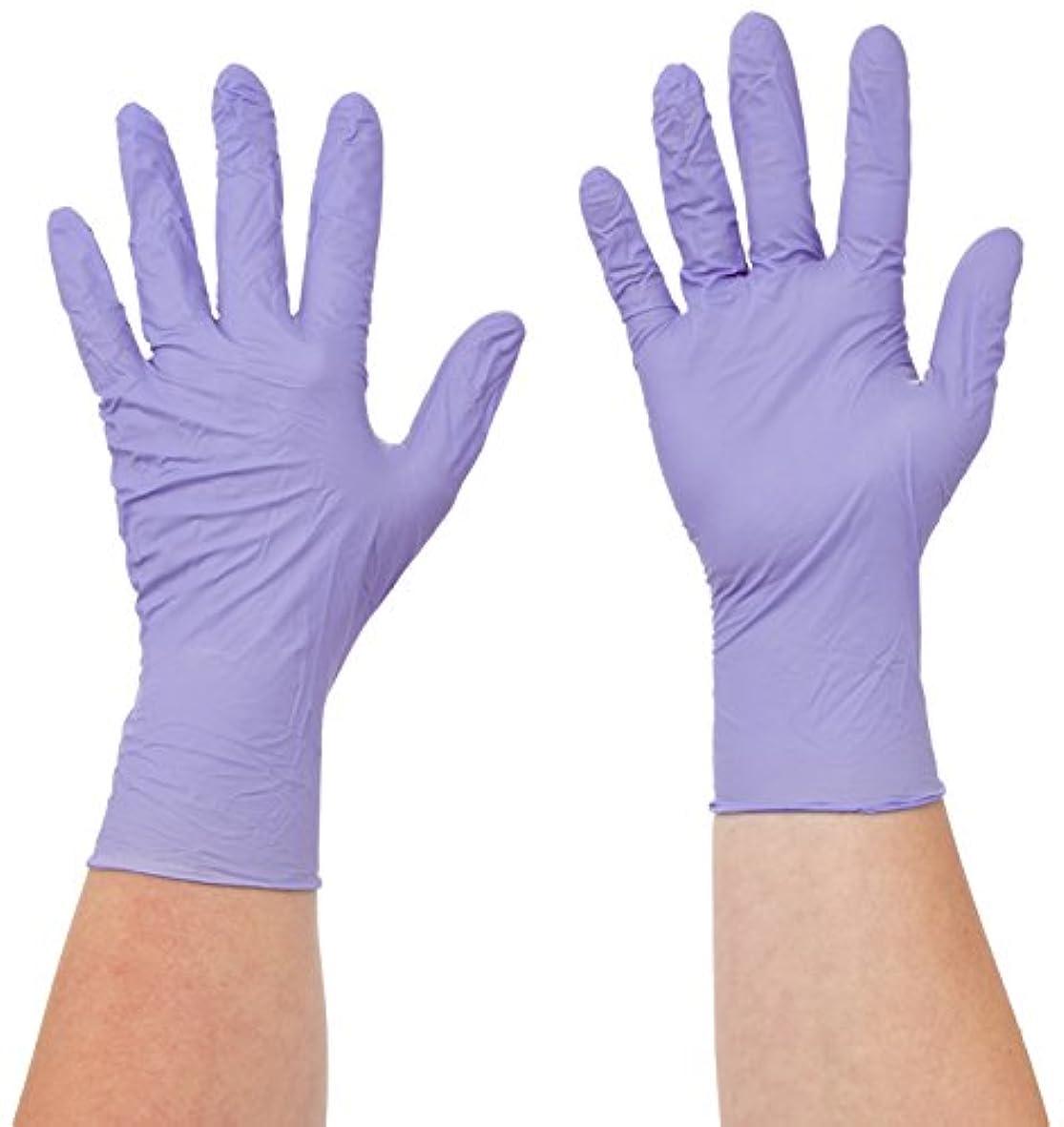 野球バイオレット円形のSemperit 使い捨てニトリル手袋 Xtra Lite 0.14mm 粉無(入数:200枚) 3000001619