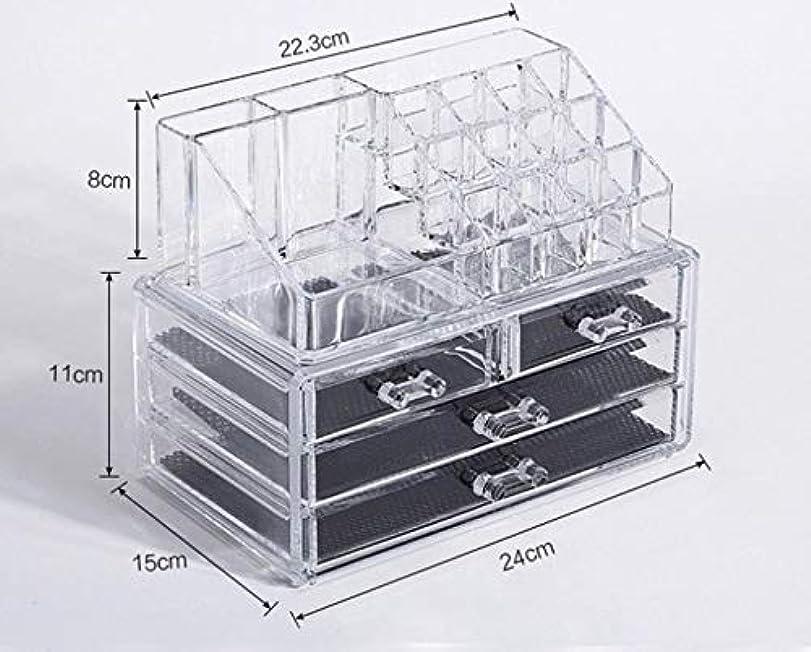 悪い残酷何もない化粧品収納ボックス メイクボックス 化粧品 収納 ニオイなし 騒音なし 防塵 高透明度 強い耐久性