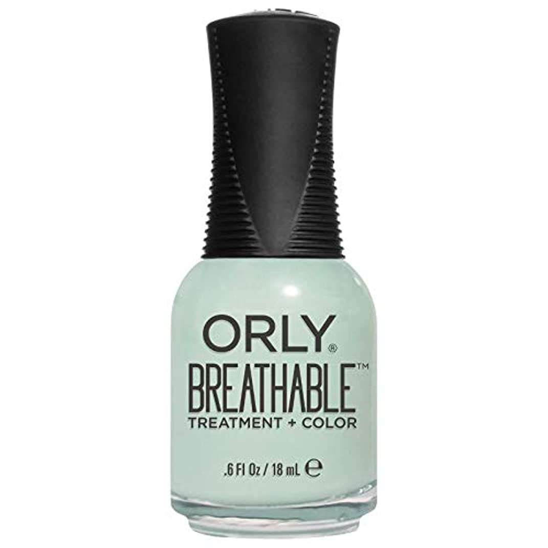 ピーブ売り手開拓者Orly Breathable Treatment + Color Nail Lacquer - Fresh Start - 0.6oz/18ml