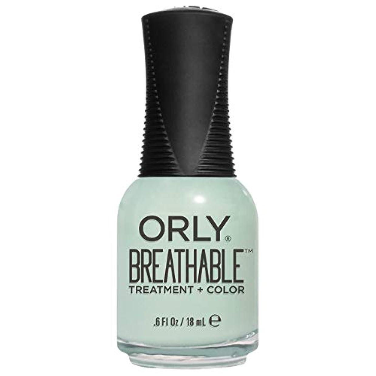変装したにはまってデジタルOrly Breathable Treatment + Color Nail Lacquer - Fresh Start - 0.6oz/18ml