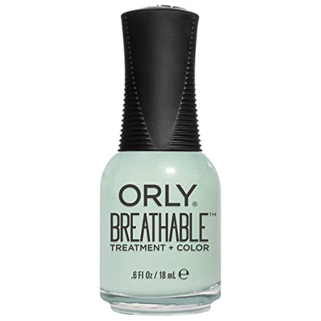 時毛細血管交通渋滞Orly Breathable Treatment + Color Nail Lacquer - Fresh Start - 0.6oz/18ml