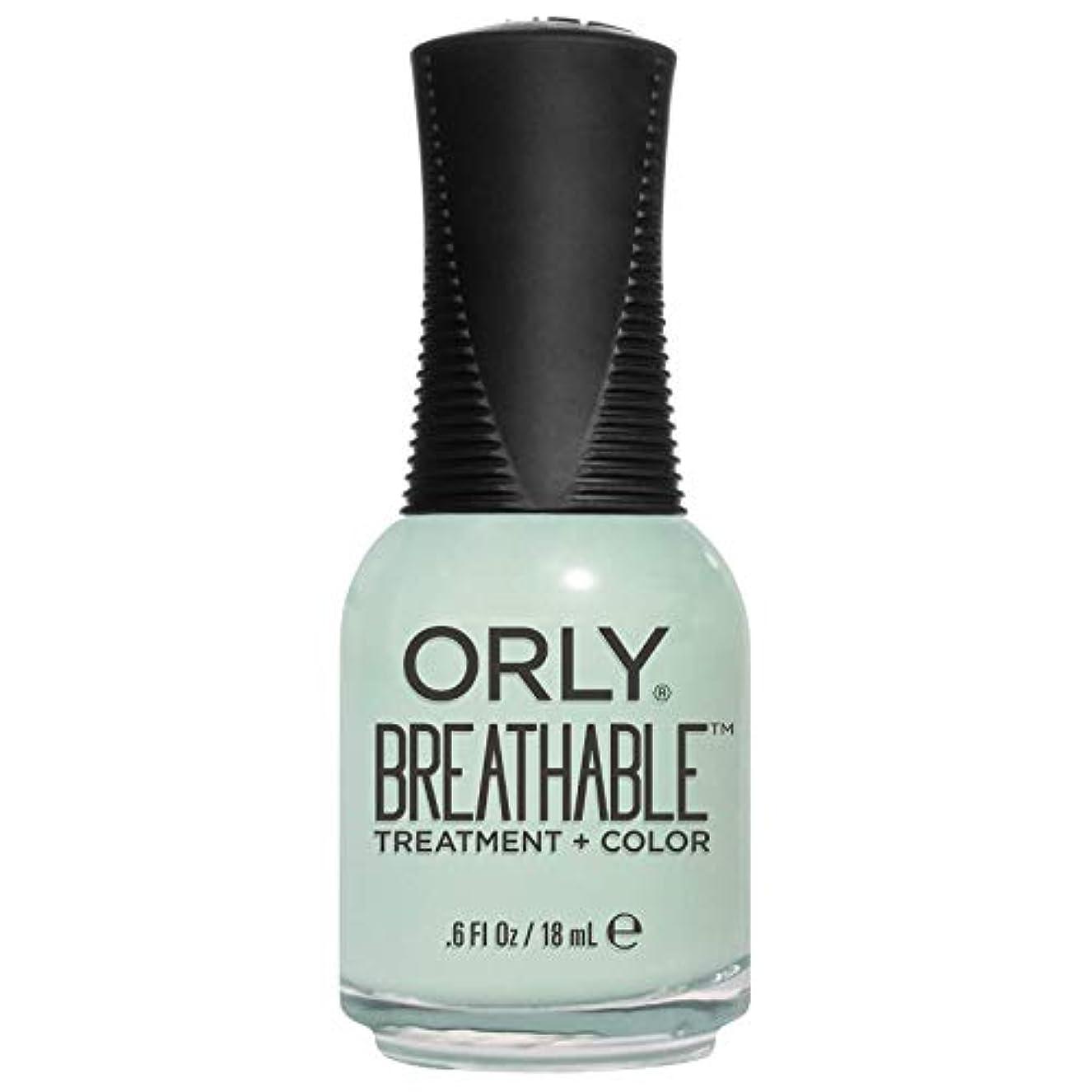 入学する主権者分類Orly Breathable Treatment + Color Nail Lacquer - Fresh Start - 0.6oz/18ml