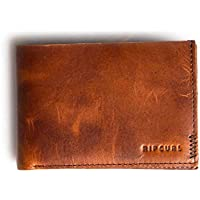 Rip Curl Men's Handcrafted All Day Leather Wallet Green