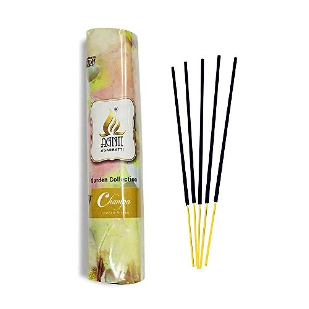 小さな重大リビングルームAGNII AGARBATTI Champa Incense Sticks 250 GRM PUDHA