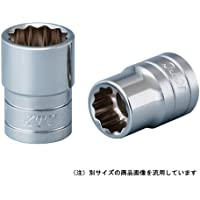京都機械工具(KTC) ソケット 12角 B4-28W-H 28×差込角:12.7mm