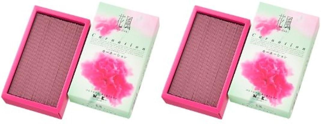 聖書アドバンテージ検体日本香堂 花風 カーネーション バラ詰 2箱セット