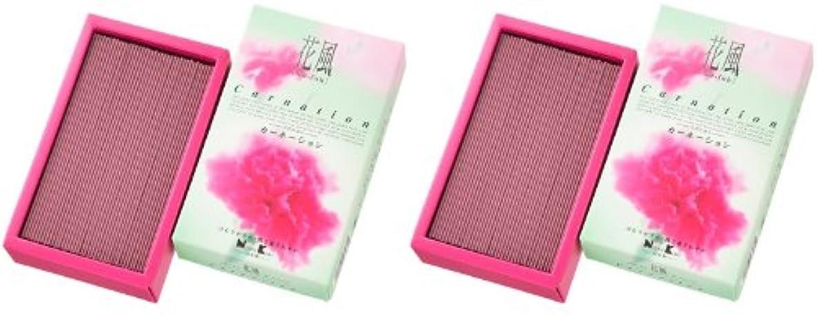 トレーダーやりがいのある逸脱日本香堂 花風 カーネーション バラ詰 2箱セット