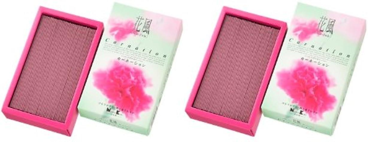 王朝賠償魅了する日本香堂 花風 カーネーション バラ詰 2箱セット