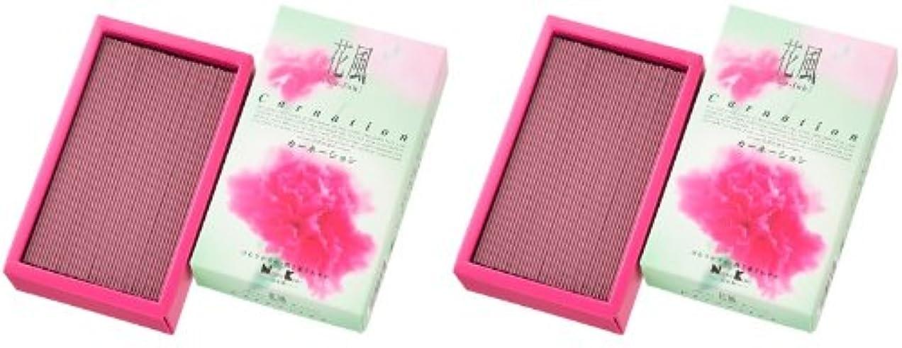 柔らかい足伝染性豆日本香堂 花風 カーネーション バラ詰 2箱セット