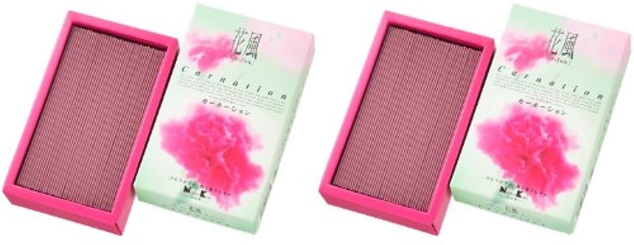 バラバラにするモーションレンダー日本香堂 花風 カーネーション バラ詰 2箱セット