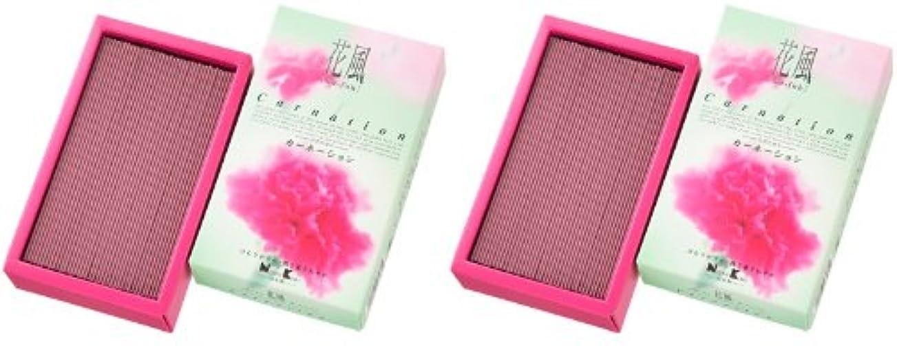 勝利した表面的なゆるい日本香堂 花風 カーネーション バラ詰 2箱セット