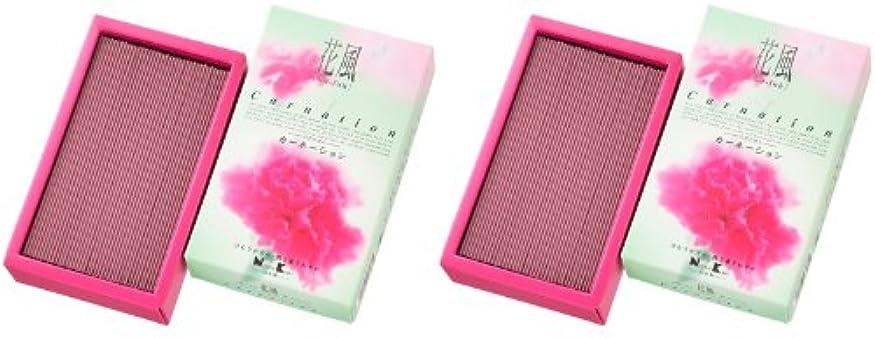 ビジネスそう飛躍日本香堂 花風 カーネーション バラ詰 2箱セット