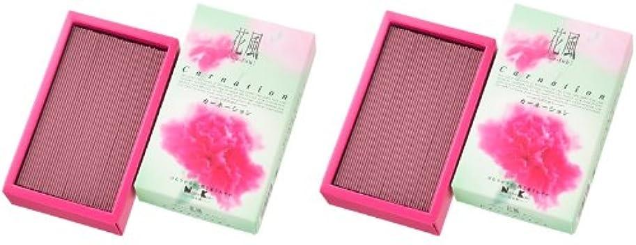 好きサイクルフレット日本香堂 花風 カーネーション バラ詰 2箱セット