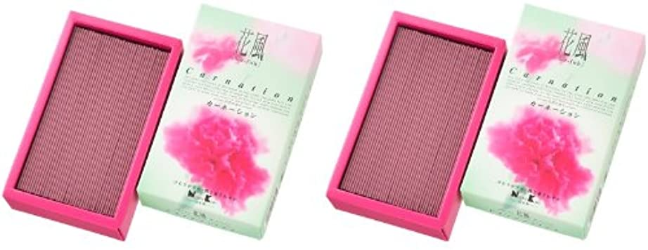 愚かエクスタシー眠いです日本香堂 花風 カーネーション バラ詰 2箱セット