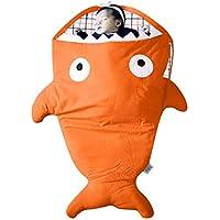 8色 布団 寝具 赤ちゃん ベビー 寝袋  ステレオ 漫画 動物 サメ 寝袋 可愛い 子供服  女の子 男の子 ベビー用 赤ちゃん (12-24ヶ月) 洋子ちゃん (12-24ヶ月, オレンジ)