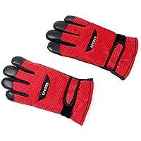 MolySun スキーグローブ 登山 手袋 厚手のアンチスリップメンズタッチスクリーンウィンターウォームグローブ通気性の防風オートバイ保護グローブ