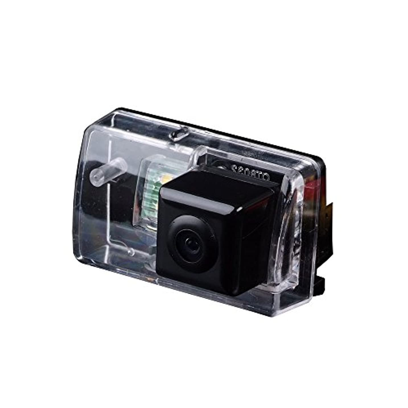 世辞単にタックDynavsal CCDバックカメラ/リアビューカメラ 【一年保証 小型高画質 170°超広角 夜間可視 防水耐震 高耐久性 LEDライト】車載カメラ リバースバックカメラ パーキングアシストカメラ カラーナイトビジョンカメラ,ナンバープレートライト 専用 ?に合う 206 207 306 407 307 307SM Sedan (モデル2 LEDなし)