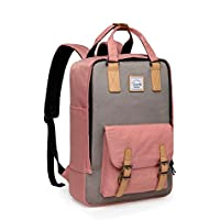 Backpack for Teen Girls,VASCHY Vintage Laptop Backpack Water-Resistant School Backpack