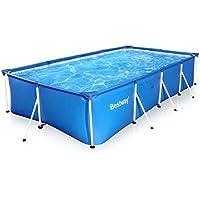 ビニールプール メタルフレームプール 400cm×211cm 水遊び 大型