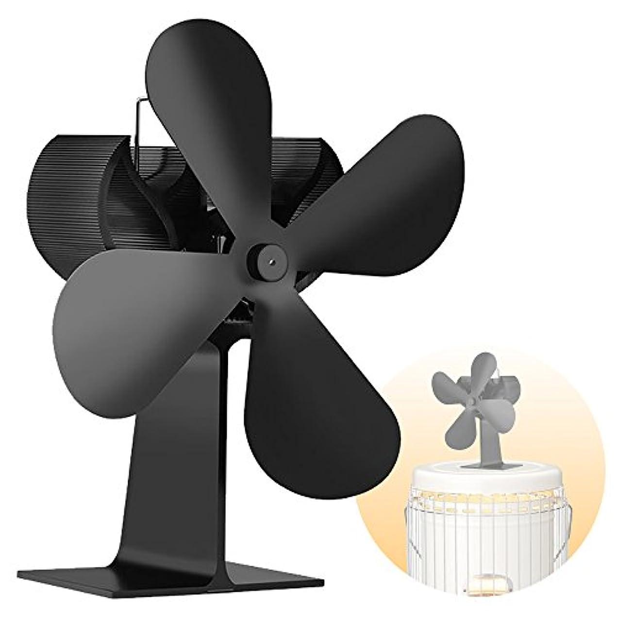 屋内で大きさたとえIQcharge 新型 COMPACT STOVE FAN <無電源式 ワイドブレード> 【対流式ストーブ/薪ストーブ/反射式ストーブ対応】 ホワイトフレーム/ブルーフレーム/レインボーフレーム 各種対応 ビンテージ アンティークデザイン 静音設計 ストーブファン