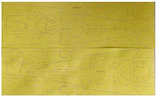 アートウォックスモデル 1/350 ドイツ海軍 巡洋戦艦 シャルンホルスト 1941用 甲板用マスキングシート DR社1036用 プラモデル用マスキング AM1010の詳細を見る