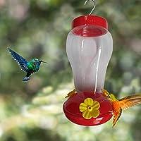 ハチドリ 鳥の水入れ 鳥フィーダー 安全耐久素材 使いやすい 透明 ペット給水器 取り付け簡単 鳥用品 水飲み 吊下げ アオハウオ(AWHAO)