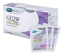 Mega Glow Collgen 30個の小袋は、コラーゲンと弾性を増やします