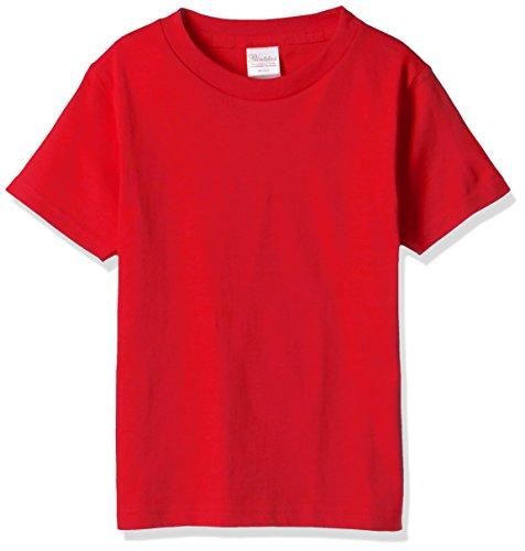 [プリントスター] 半袖 5.6オンス へヴィー ウェイト Tシャツ 00085-CVT_K ボーイズ イタリアンレッド 130cm (日本サイズ130相当)