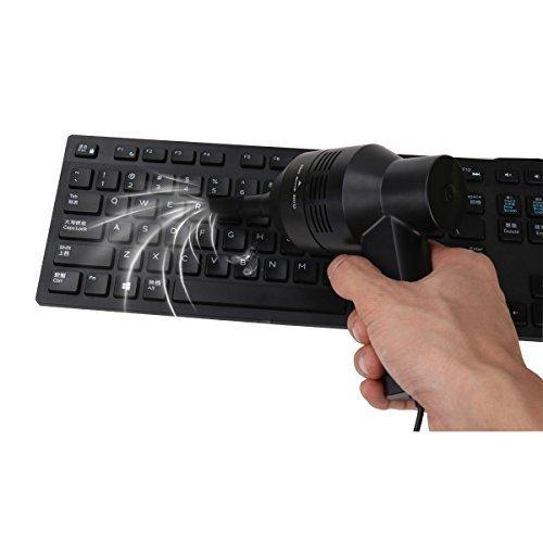 iixpin Miniデスク電動掃除機キットPCキーボード、テレビSatelliteボックス、DVD、キッチンストーブ料理、Top withノズル