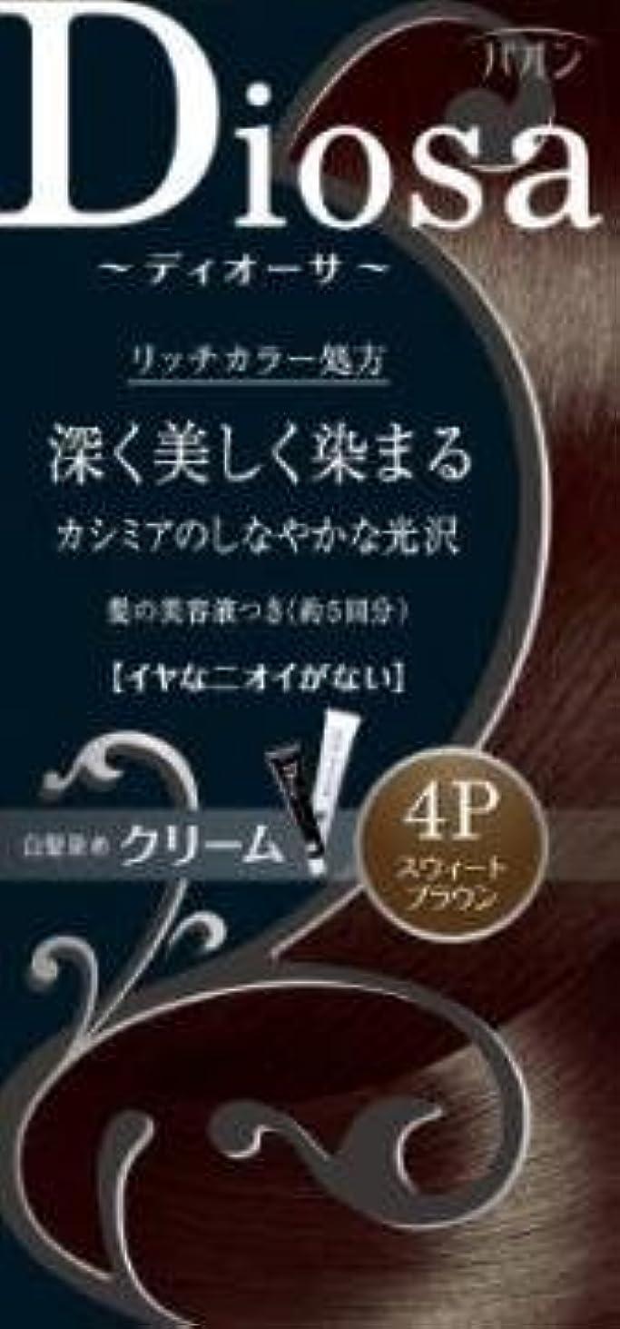 抑制観点コンドーム【シュワルツコフヘンケル】パオン ディオーサ クリーム 4P スウィートブラウン ×3個セット