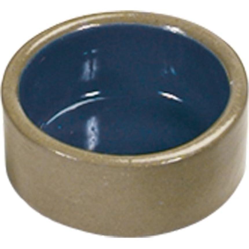 Super Pet Stoneware Hamster Dish 3inches Diameter Sandstone Color Exterior