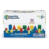 ラーニング リソーシズ(Learning Resources) 算数教材 立体図形ブロック プラスチック製 32個入り LER0913 正規品