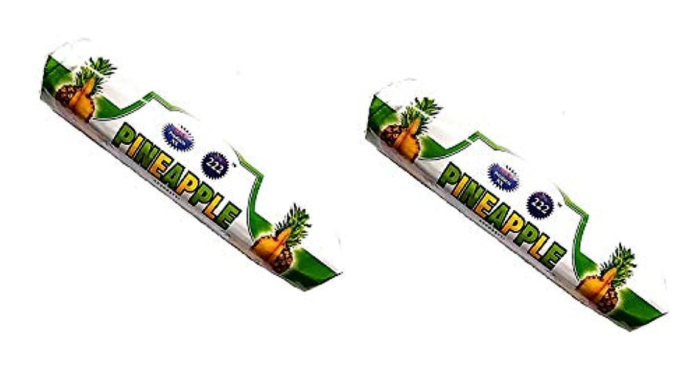 見かけ上カイウス解明Pine Apple Insense Sticks Pack of 2 (250g x 2)