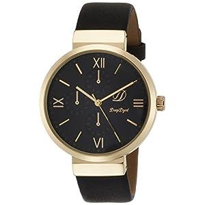 [フィールドワーク]Fieldwork 腕時計 ファッションウォッチ ジェイコブ アナログ 革ベルト ブラック DT133-5 レディース