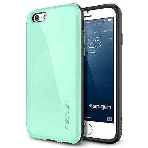 iPhone 6 Plus ケース, Spigen® [ 衝撃吸収+グリップ感 ] カペラ Apple iPhone (5.5) アイフォン 6 プラス カバー (国内正規品) (ミント 【SGP11084】)