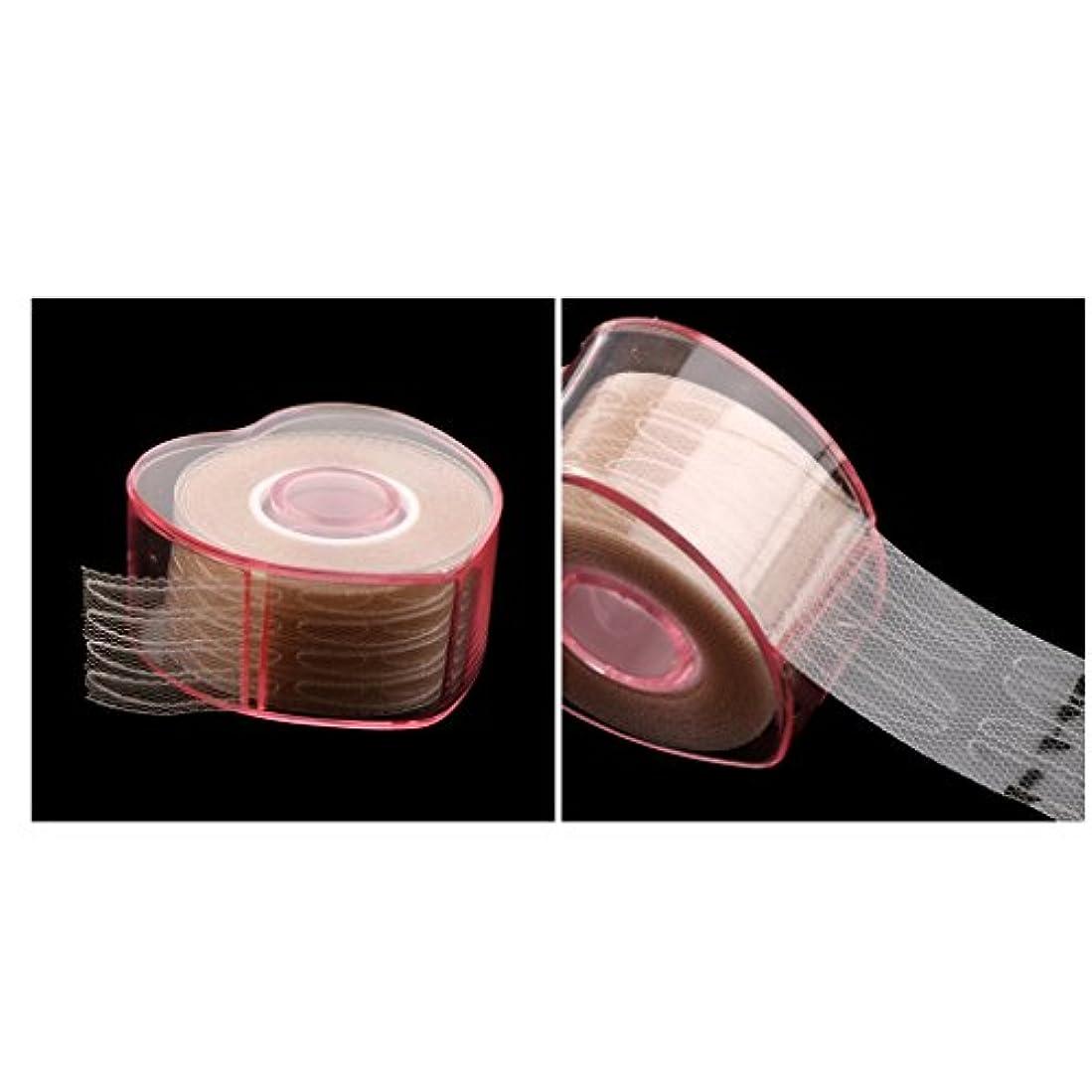 可塑性百年確立Perfeclan 2ロール まつ毛テープ 目に見えない 繊維 二重まぶた リフトストリップ テープ ステッカー
