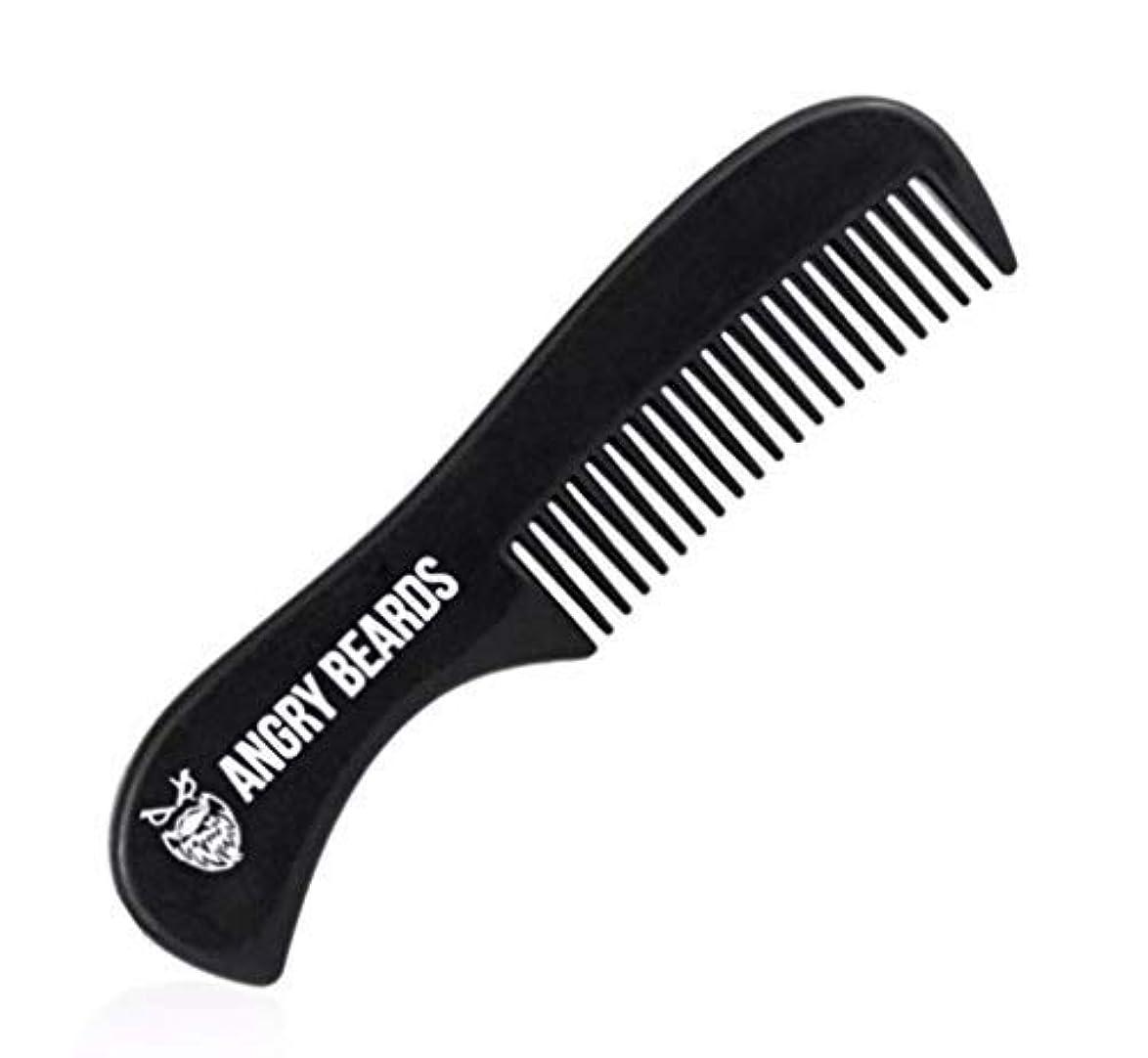盲目出費ストッキングPocket Beard Comb by Angry Beards 6x3cm Made in Czech Republic / ポケットひげ櫛by怒っているひげ6 x 3 cmチェコ共和国製