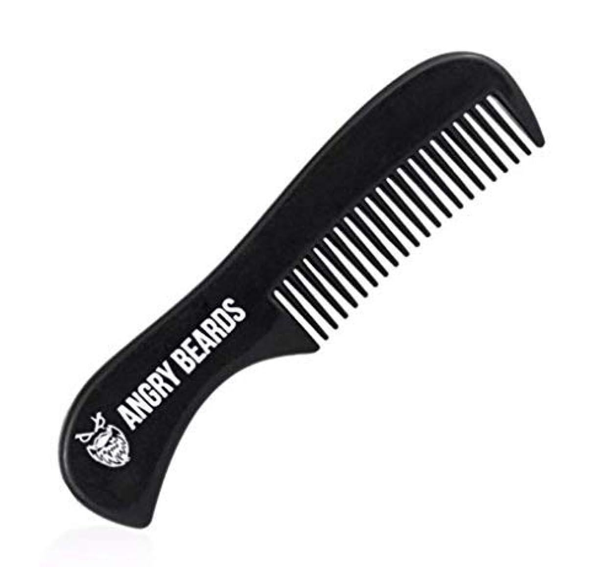 単語信頼熟達Pocket Beard Comb by Angry Beards 6x3cm Made in Czech Republic / ポケットひげ櫛by怒っているひげ6 x 3 cmチェコ共和国製