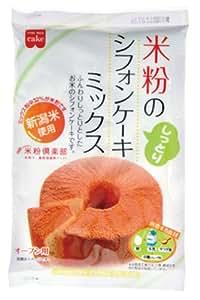 米粉のシフォンケーキミックス 170g×6個