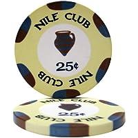 25ナイルクラブ0.25 ¢Cent ) Poker Chips