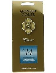 ガーネッシュ(GONESH) ナンバー インセンス コーン No.14 25個入(お香)