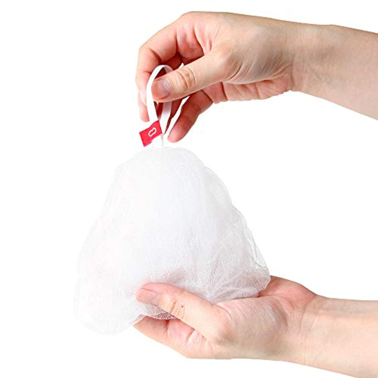 メガロポリスタバコシャープ泡立てネット サイズ:約12cm(平置き時)