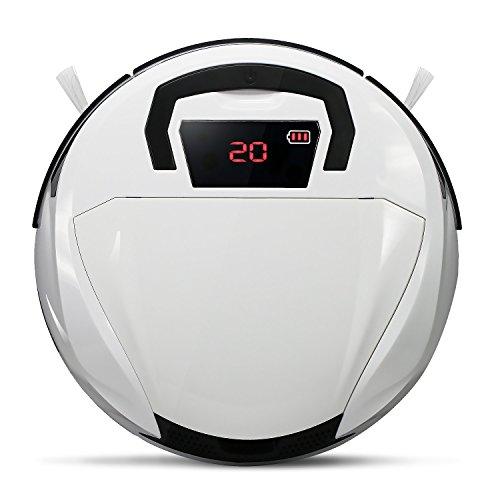 EVERTOP ロボット掃除機 ハンディ設計 タイマー機能搭載 FD-2RSW(B型 ホワイト)